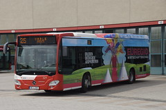 Mercedes-Benz Citaro Evobus O 530 LE C2 ASEAG 329 met kenteken AC-L 221 in Aachen Betriebshof 19-05-2018 (marcelwijers) Tags: mercedesbenz citaro evobus o 530 le c2 aseag 329 met kenteken acl 221 aachen betriebshof 19052018 germany coach deutschland mercedes benz duisland lijnbus werbung busse buses linienbus nrw