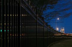 Desing 2.   Sur la route (nicoleforget) Tags: bleu lumières