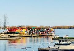 Season ahead (Nueva 7) Tags: toronto lakeontario kayak