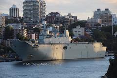 HMAS Adelaide. 21/11/17. Ref IMG_6D1846W (Montys photos) Tags: landinghelicopterdockslhd hmasadelaide 01 ran adf navy