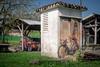 Saint-Michel-de-Bannières (Smart Public Space) Tags: vintagebicycle vintagecycling 自転車 cyclingphotos cyclingshots randonneur randonneuse bicycleporn frenchbicycle bicyclette fujifilmxseries correze voyageàvélo joroutens
