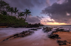 An Unkept Secret [Explored 4/26/18] (JMK/Photography) Tags: secretbeach maui beach sand sea ocean water palmtree tree sunset hawaii beautiful landscapephotography jmkphotography nikon nikond810 1635f4 waves tropical rock sunlight