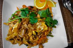 Drunken Noodles w/ added egg - Ta Khrai Thai Cafe (sheryip) Tags: food foodporn morgantown wv wvu ta khrai thai cafe drunken noodle