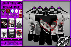 [TD] Ghoul Tank [02] (.☣.†ᴏxɪᴄÐᴏɪɪs.☣.) Tags: tank shirt male top ghoul toyko anime product event tmp adam secondlife slink sl signature gianni guy jake belleza aesthetic toxic toxicdolls darkness fashion fitted fitmesh mesh men man exclusive