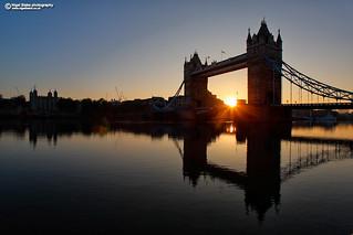 Tower Bridge London, sunrise