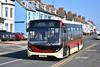East Yorkshire 512, YX17NKG. (EYBusman) Tags: east yorkshire motor services eyms hull bus coach hornsea town centre seafront marine drive alexander dennis enviro 200 mmc yx17nkg eybusman