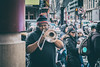 Music for everyone (8230This&That) Tags: chinatowndc chinesenewyear dc washingtondc music musician streetperformer streetmusician streetphotography brassinstruments trombone bostonredsox redsox crowdsofpeople washington districtofcolumbia unitedstates us