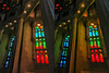 The colors of glass 3D (Immagini 2&3D) Tags: sagradafamilia barcelona catalunya spain