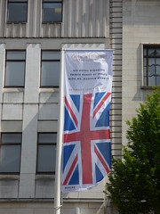 Union Jack's for the Royal Wedding 2018 in Birmingham - High Street (ell brown) Tags: flag flags unionjack britishflag royalwedding princeharry meghanmarkle royalwedding2018 birmingham banner banners sign signs westmidlands england unitedkingdom greatbritain highst highstbirmingham markspencer ms unionst unionstbirmingham