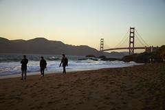 DSC03185 (manolosavi) Tags: california sanfrancisco bakerbeach outside nature sea beach sand sony alpha a7 a7ii sky sunset people goldengate zeiss sonnar 55mm