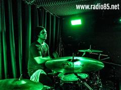 Aarón Flores - Radio 85 (grinder5.0) Tags: entrevista en vivo radio85 envivo musica livemusic indierock bateria drummer baterista drum drumcam sabian tama sabiancymbals pasaguero gatocalavera aztlan studio record recording radio 85