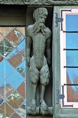 Burgerhuis De Duivels # 3 (just.Luc) Tags: sculpture escultura house maison huis haus mechelen malines belgië belgien belgique belgica belgium vlaanderen flandres flanders wood hout bois holz devil duivel baard barbe barba bart beard europa europe