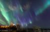 Blue and green (Traylor Photography) Tags: alaska tedstevensinternationalairport blue pointworonzof green moon aurora northernlights lyridmeteorshower anchorage unitedstates us