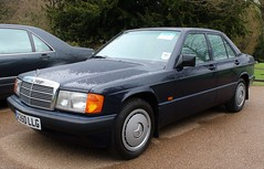 K350 LLG (Nivek.Old.Gold) Tags: 1993 mercedes 190e 18 hh