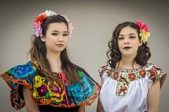 Jade & Marissa (Rainy Day Lover) Tags: chiapas vestidofolklorica baile puebla mexicanfolklore mexico