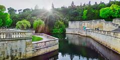 Source Jardins de la Fontaine (thierrybalint) Tags: source nîmes jardinsdelafontaine jardins canon arbres gardens trees bassin basin