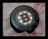Bruins Puck (Peter Camyre) Tags: boston bruins ice hockey puck canon photography peter camyre flickr stream logo nhl national league
