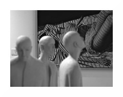 Interelación artistica (juan jose aparicio) Tags: bw museum museo paints pinturas esculturas art arte cityscapes