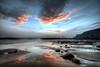 Saltwick Bay sunset (inreflection) Tags: sigma1224 seascape beach bay sunset yorkshire saltwickbay clouds coast nikon nikond600 northyorkshire nikoncapture