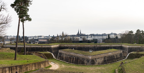 Luxembourg, Kirchberg Fortress