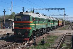 2М62У-0144 (dm35ru) Tags: russia vologdaregion railroad railway train russianrailways rzd diesel locomotive 2m62