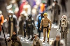 Luke Skywalker (Pye42) Tags: goldenagecollectibles lukeskywalker pikeplacemarket seattle starwars washington actionfigure displaycase toy unitedstates