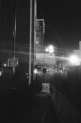 Buck's Row (goodfella2459) Tags: nikon f4 af nikkor 50mm f14d lens ilford delta 3200 35mm blackandwhite film analog night bucks row durward street mary ann nichols jack ripper crime history whitechapel east end london light bwfp