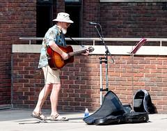 Garry? (Geoff Henson) Tags: busker musician singer guitar man person street wall 1000v40f