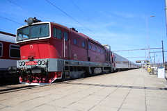 754.054 @ Kosice - Slovakia (uksean13) Tags: rusnoparada2018 754054 zssk kosice slovakia station train transport rail canon 760d efs1855mmf3556