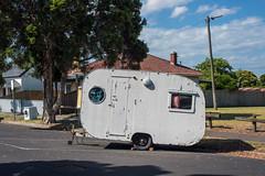 Yarraville (Westographer) Tags: yarraville melbourne australia westernsuburbs suburbia caravan plywoodcaravan vintagecaravan streetscape