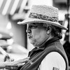 Straw Hat #streetphotography #bw #street (marcn) Tags: nh nashua numusefestival festival street streetphotography newhampshire unitedstates us