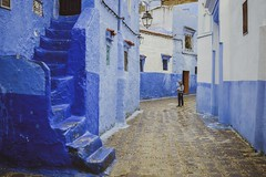 Child in the blue (S.Pompei photo) Tags: stphotographia streetphotography people kids composition chefchouen thebluepearl morocco africa travelphotography flickrtravelaward