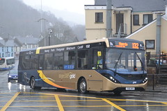 Stagecoach South Wales 26091 YX66WHV (Will Swain) Tags: pontypridd bus station 10th february 2018 south west wales cymru buses transport travel uk britain vehicle vehicles county country england english stagecoach 26091 yx66whv