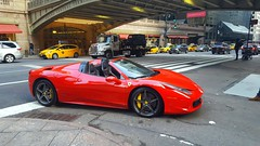 Ferrari 458 Spider (SamismagiC) Tags: ferrari 458 italia spider spyder italian red rouge new york grand central station spot samismagic supercar cabriolet car street