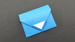 Make Envelope with Paper (No Glue Tape and Scissors) at Home (ufnmimcp) Tags: youtube origami papers made colors paper
