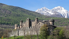 Fenis castle (ab.130722jvkz) Tags: italy aostavalley alps castles history