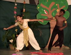 Tamil_NY_54 (Manohar_Auroville) Tags: tamil auroville new year puthanthu ramayana transition students girls theatre tamilbeauty tamilgirl manohar luigi fedele india