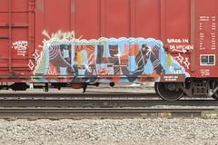 Bayou22 (Psychedelic Wardad) Tags: freight graffiti bayou22 bayou