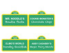 Sesame Street Party Food Placecards/Signs (maddieandmarry) Tags: sesamestreet elmo 2nd birthday party placecards food menu