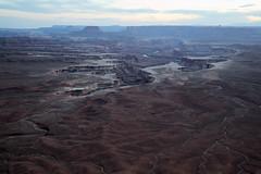 Green River Overlook at dusk (Tackshots) Tags: canyonlands nationalpark utah greenriveroverlook scenery landscape