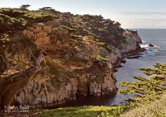 Point Lobos Reserve, Carmel, California  (40063-40064) (John Bald) Tags: bigsur california carmel carmelbythesea pointlobos pointlobosreserve pointlobosstatenaturalreserve cliff coast environment horizon land latewinter ocean rocks scenery shore water waves