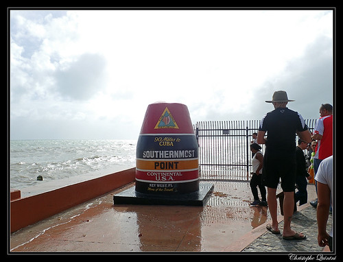 Southernmost point buoy in Key West