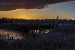 Rennie River Bridge (digismith44) Tags: sunset rivers bridges manitoba whiteshell provincial park spring