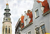 Le clocher de la Nieuwe kerk, Middelbourg, Walcheren, capitale de la province de Zélande, Nederland (claude lina) Tags: claudelina nederland paysbas hollande zeeland zélande middelbourg ville town architecture