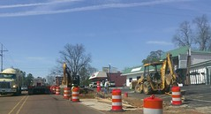 The big dig, April 17, 2018 (l_dawg2000) Tags: desotocounty hernando hwy51 mdot mississippi ms roadconstruction roadimprovements