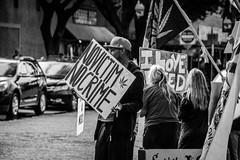 Innocent Until You Ain't (creteBee) Tags: protest black white monochrome change freedom marijuana legalize innocent man people