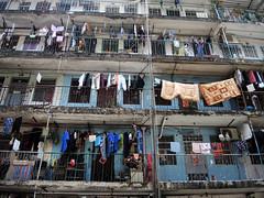 Macau Cage homes (MelindaChan ^..^) Tags: macau cage home apartment life house chanmelmel mel melinda melindachan dry sundried people accommodation 澳門 新美安