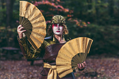 SP_55391-3 (Patcave) Tags: kyoshi warrior avatar last airbender 2016 atlanta life college cosplay cosplayer cosplayers costume costumers costumes shot comics comic book movie fantasy film canon 5d3 sigma 85mm f14 lens