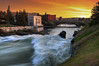 Spokane Falls (Meleah Reardon) Tags: spokane snxw meneɂ canada island riverfront park falls waterfall river eastern washington city sunset