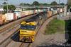 High Street Intermodal (Henry's Railway Gallery) Tags: nr107 an2 nr20 nrclass anclass emd diesel ge goninan ugl clyde containertrain freighttrain pn pacificnational highstreet maitland intermodal 7bm4 bm4